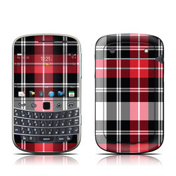 BlackBerry Bold 9930 Skin - Red Plaid