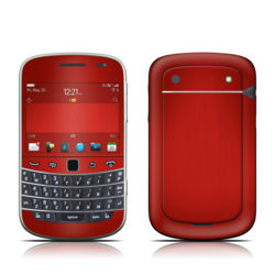BlackBerry Bold 9930 Skin - Red Burst