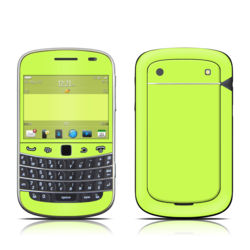 BlackBerry Bold 9930 Skin - Solid State Lime