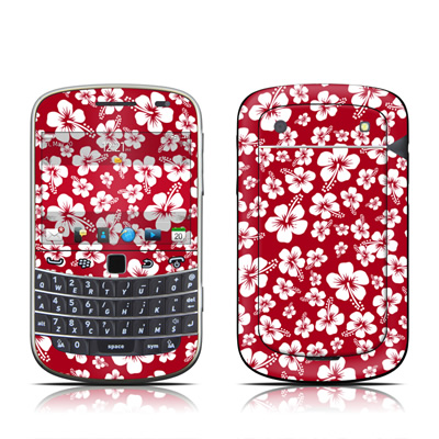 BlackBerry Bold 9930 Skin - Aloha Red
