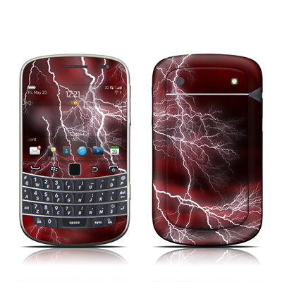 BlackBerry Bold 9930 Skin - Apocalypse Red