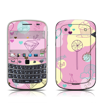 BlackBerry Bold 9930 Skin - Pink Candy