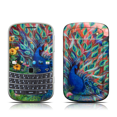 BlackBerry Bold 9930 Skin - Coral Peacock