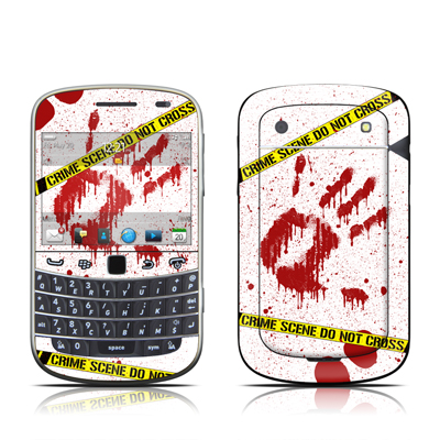 BlackBerry Bold 9930 Skin - Crime Scene Revisited