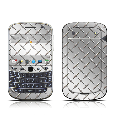 BlackBerry Bold 9930 Skin - Diamond Plate