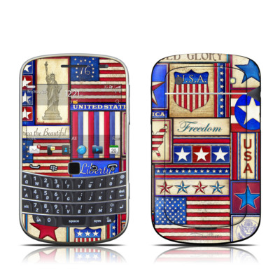 BlackBerry Bold 9930 Skin - Flag Patchwork