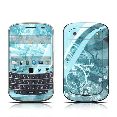 BlackBerry Bold 9930 Skin - Flores Agua