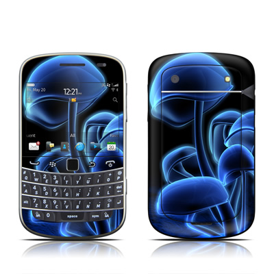 BlackBerry Bold 9930 Skin - Fluorescence Blue