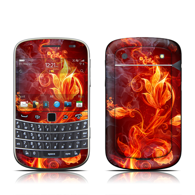 BlackBerry Bold 9930 Skin - Flower Of Fire
