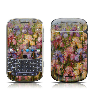 BlackBerry Bold 9930 Skin - Field Of Irises