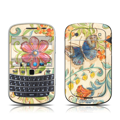 BlackBerry Bold 9930 Skin - Garden Scroll
