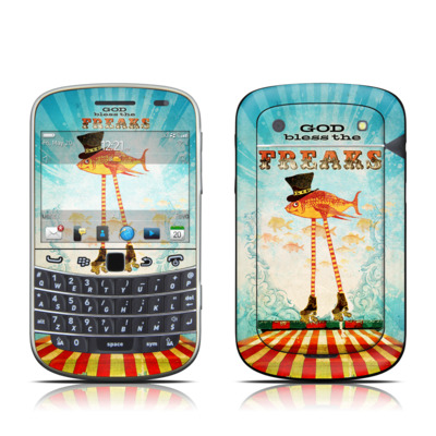 BlackBerry Bold 9930 Skin - God Bless The Freaks