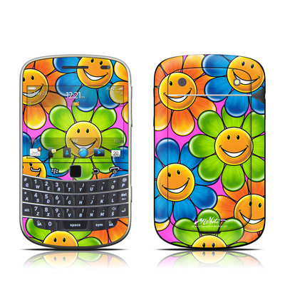 BlackBerry Bold 9930 Skin - Happy Daisies