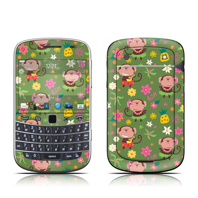BlackBerry Bold 9930 Skin - Hula Monkeys