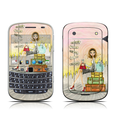 BlackBerry Bold 9930 Skin - The Jet Setter