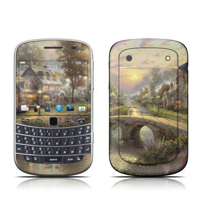 BlackBerry Bold 9930 Skin - Sunset On Lamplight Lane