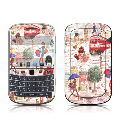 BlackBerry Bold 9930 Skin - London