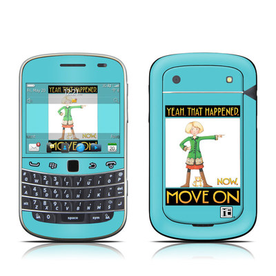 BlackBerry Bold 9930 Skin - Move On