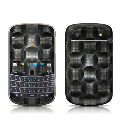 BlackBerry Bold 9930 Skin - Metallic Weave