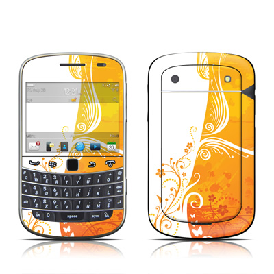 BlackBerry Bold 9930 Skin - Orange Crush