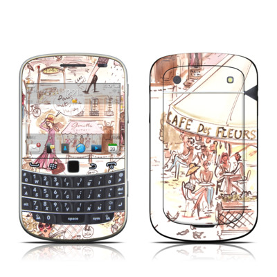 BlackBerry Bold 9930 Skin - Paris Makes Me Happy