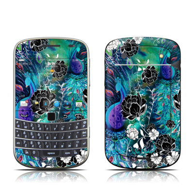 BlackBerry Bold 9930 Skin - Peacock Garden