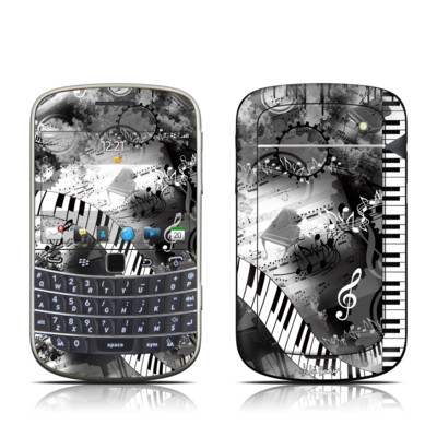 BlackBerry Bold 9930 Skin - Piano Pizazz