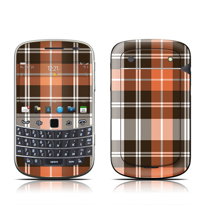 BlackBerry Bold 9930 Skin - Copper Plaid