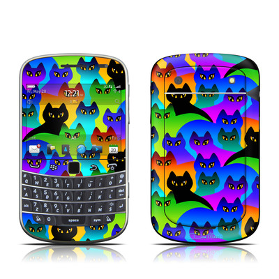 BlackBerry Bold 9930 Skin - Rainbow Cats
