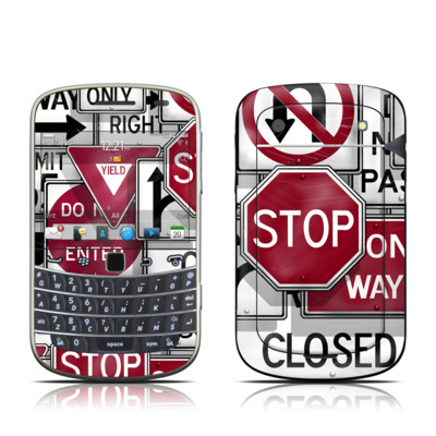 BlackBerry Bold 9930 Skin - Signs