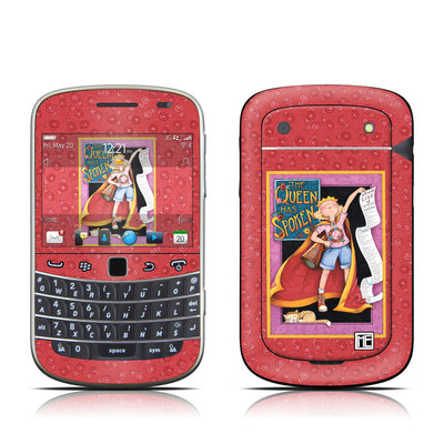 BlackBerry Bold 9930 Skin - Queen Has Spoken