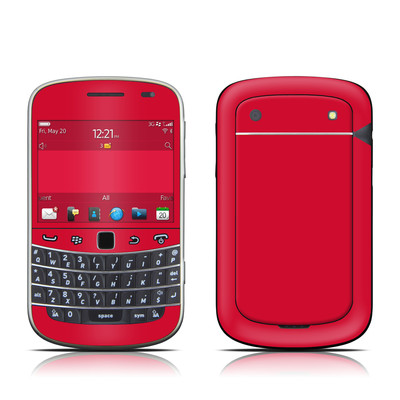 BlackBerry Bold 9930 Skin - Solid State Red