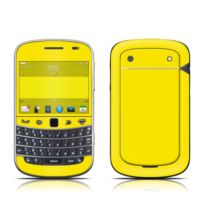 BlackBerry Bold 9930 Skin - Solid State Yellow