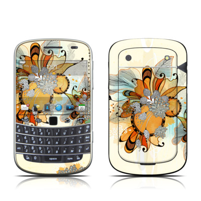 BlackBerry Bold 9930 Skin - Sunset Flowers