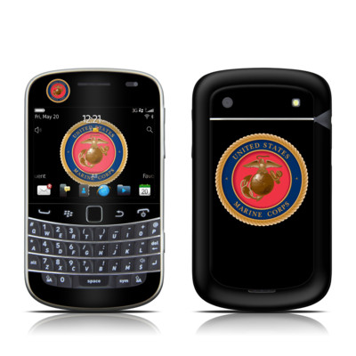 BlackBerry Bold 9930 Skin - USMC Black