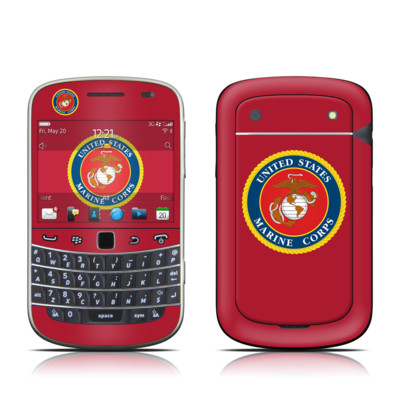 BlackBerry Bold 9930 Skin - USMC Red