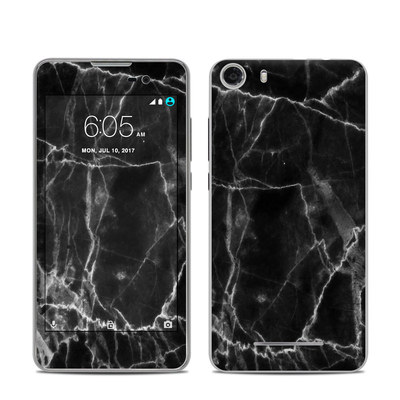 BLU Advance 5.0 Skin - Black Marble