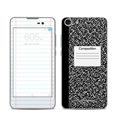 BLU Advance 5.0 Skin - Composition Notebook