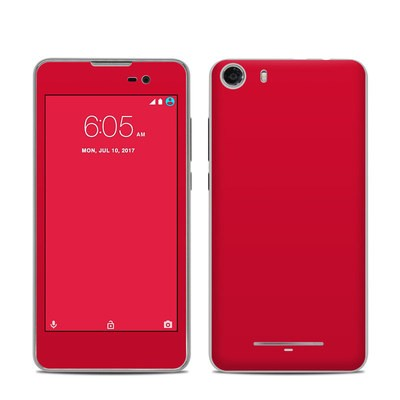 BLU Advance 5.0 Skin - Solid State Red