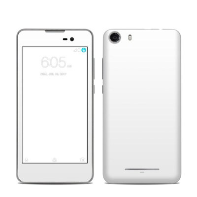 BLU Advance 5.0 Skin - Solid State White