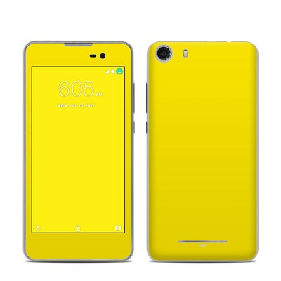 BLU Advance 5.0 Skin - Solid State Yellow