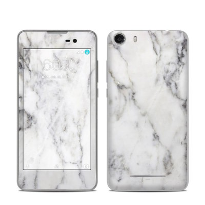 BLU Advance 5.0 Skin - White Marble