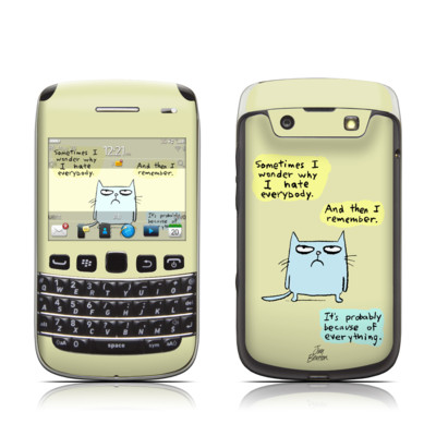 BlackBerry Bold 9790 Skin - Catwad Hate