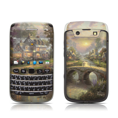 BlackBerry Bold 9790 Skin - Sunset On Lamplight Lane