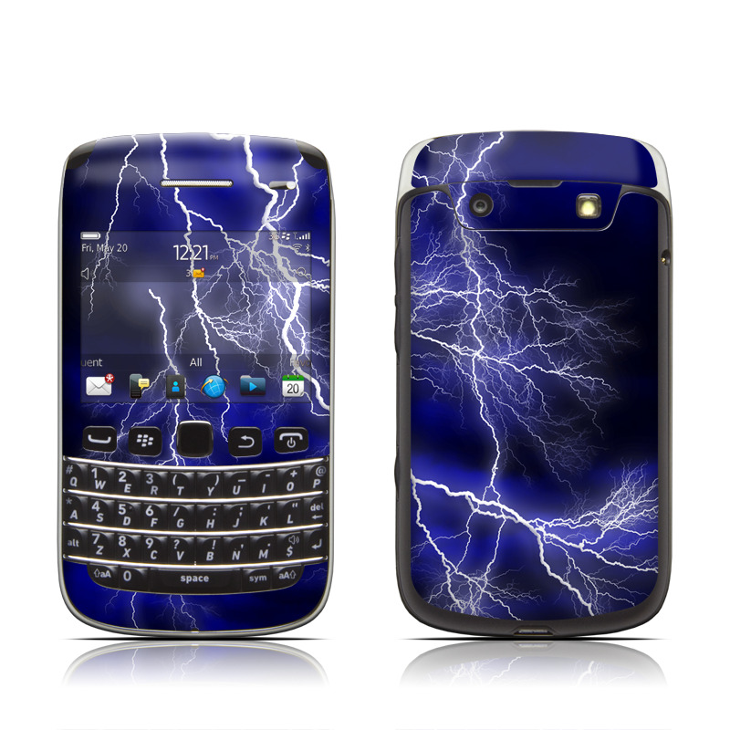 blackberry bold 9790 skin apocalypse blue by gaming decalgirl