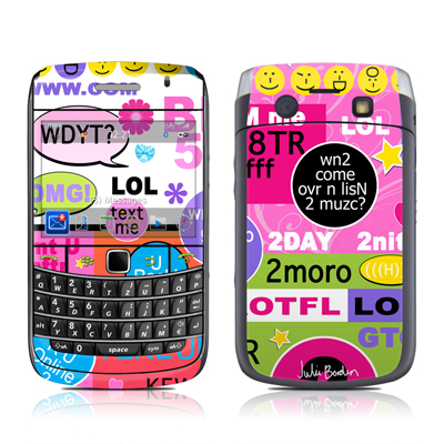 BlackBerry Bold 9700 Skin - BFF Girl Talk