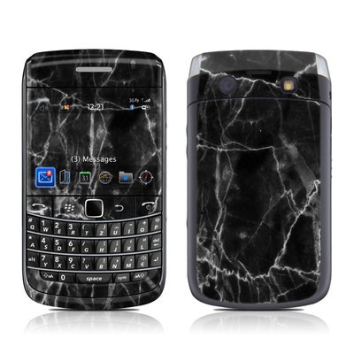 BlackBerry Bold 9700 Skin - Black Marble