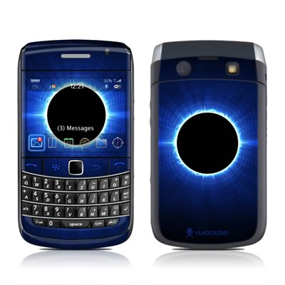 BlackBerry Bold 9700 Skin - Blue Star Eclipse