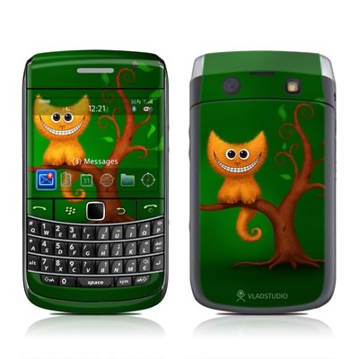 BlackBerry Bold 9700 Skin - Cheshire Kitten
