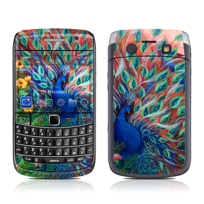 BlackBerry Bold 9700 Skin - Coral Peacock